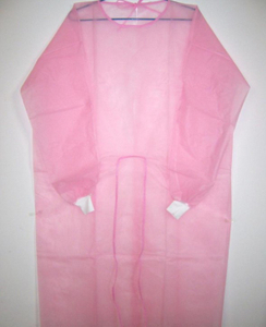 Non woven breathable disposable hospital isolation gowns