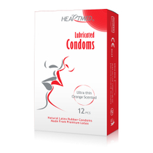 Super lubricated invisible ultra thin latex condoms