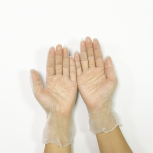 Pre-powdered smooth touch disposable vinyl exam gloves