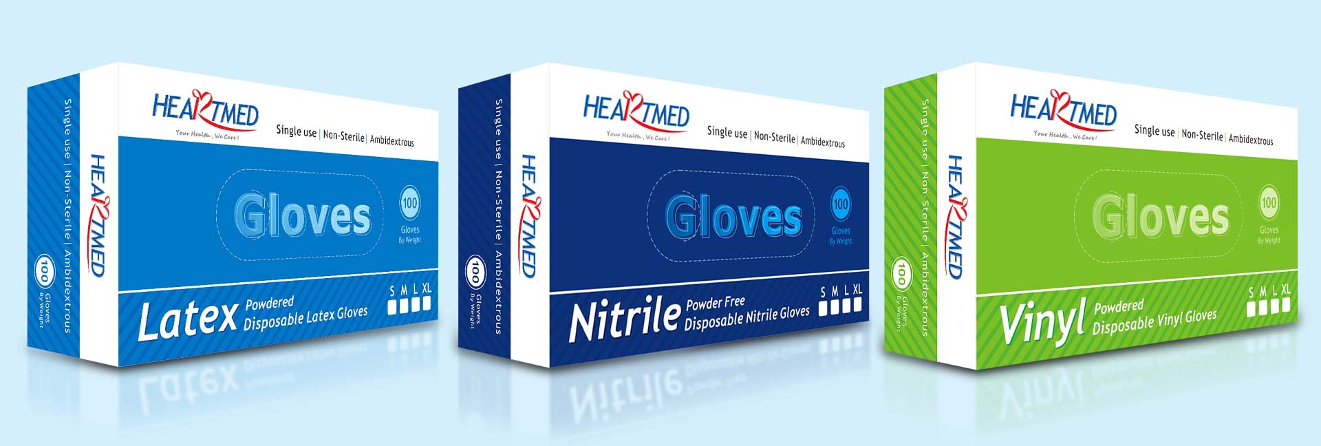 Heartmed gloves