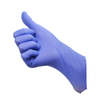 Purple acid resistance disposable nitirle work gloves
