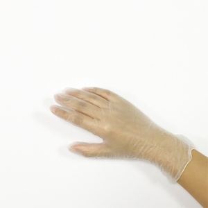 Latex free synthetic vinyl powder free gloves for medical examination