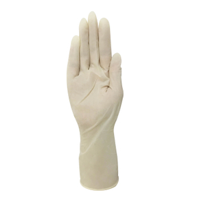 Sterile disposable powder free latex surgical gloves