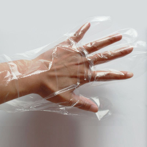 xl sterile food safe polyethylene disposable gloves with high performance