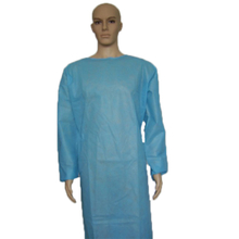 Sterile disposable non woven surgical gown