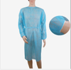 xl disposable blue pediatric health isolation gown