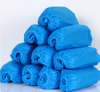 Blue disposable non woven shoe covers for indoor officeworks
