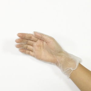 Medium disposable non-sterile powder free vinyl medical gloves
