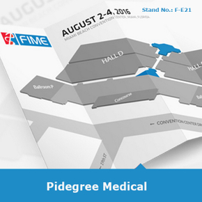 Congratulations PidegreeGroves successfully participated in 2016 the American Medical Exhibition FIME