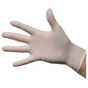 Powder free full range size hand protection latex disposable gloves