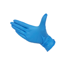 xs blue powder free disposable nitrile gloves for nurses